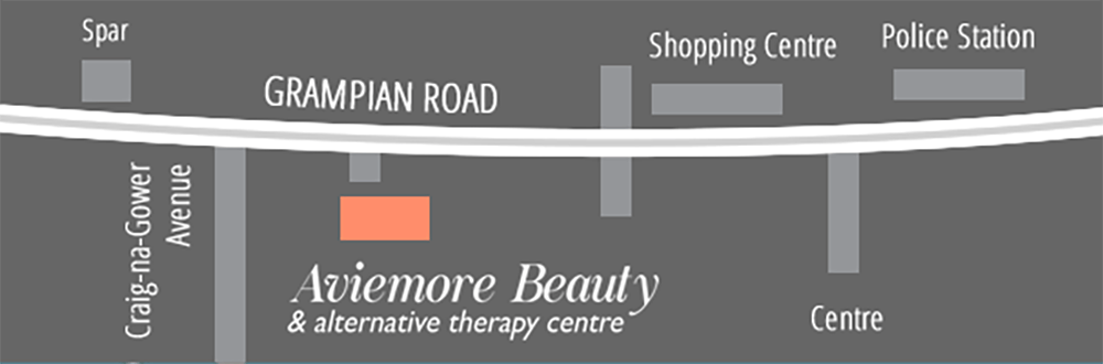 map aviemore beauty massage cairngorm holiday - Home